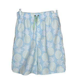 Class Club Boys Swim Trunks Pineapples Size 14-16